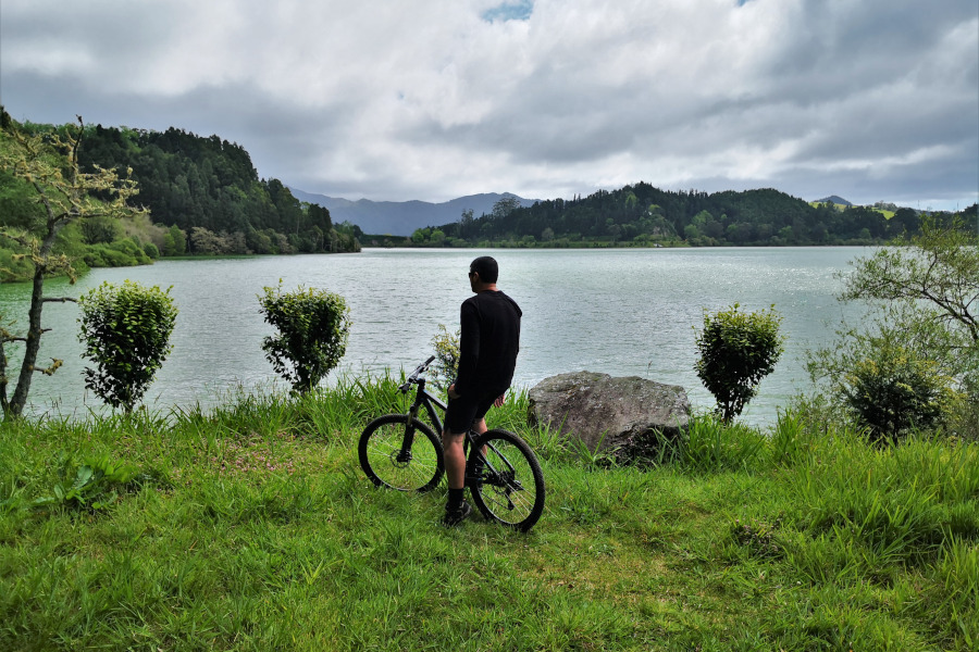 Biking in Furnas Lake & Terra Nostra Garden Tour